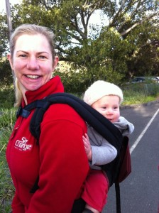 Maree and baby Max